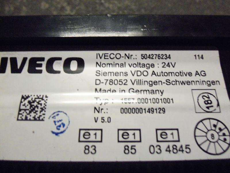instrument tabla  IVECO EURO5 instrument panel cluster 504276234, 504226363, 504025358, 504156164, 504156187 za tegljača IVECO Stralis