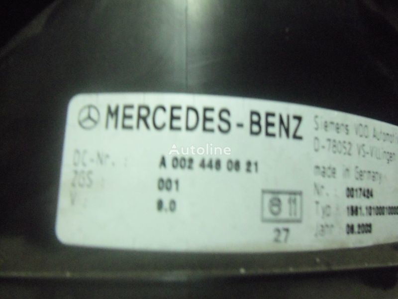 instrument tabla  Mercedes Benz Actros MP2, MP3, MP4, INS electronic instrument panel 0024461321 cluster, 0024464321, 0024467421, 0024469921, 0034460521, 0044460621, 0044461821, 0014467021, 0024460721, 0024461421, 0024464421, 0024467521, 0034460021, 0034460621, 0044461921, za tegljača MERCEDES-BENZ Actros