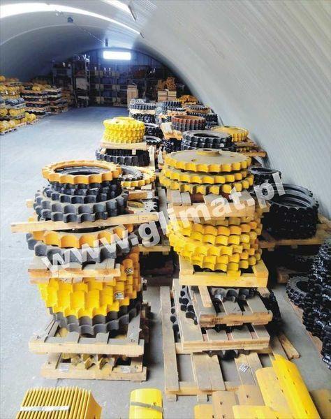 novi lančanik HANOMAG za građevinske mašine HANOMAG D600