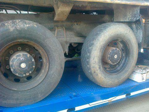 most MAN 6x4 8x4 Niemcy za kamiona MAN 26-403