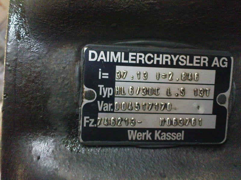 most MERCEDES-BENZ HL6 ,40/13,37/13, Mercedes za tegljača MERCEDES-BENZ AXOR,ACTROS