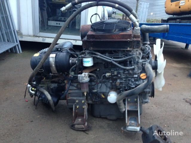 motor  Yanmar 4TNV98-N + LINDE HPV105-02 0000 za generatora