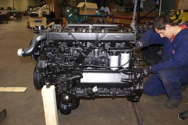 motor za druge građevinske opreme MAN D0826 LF 08