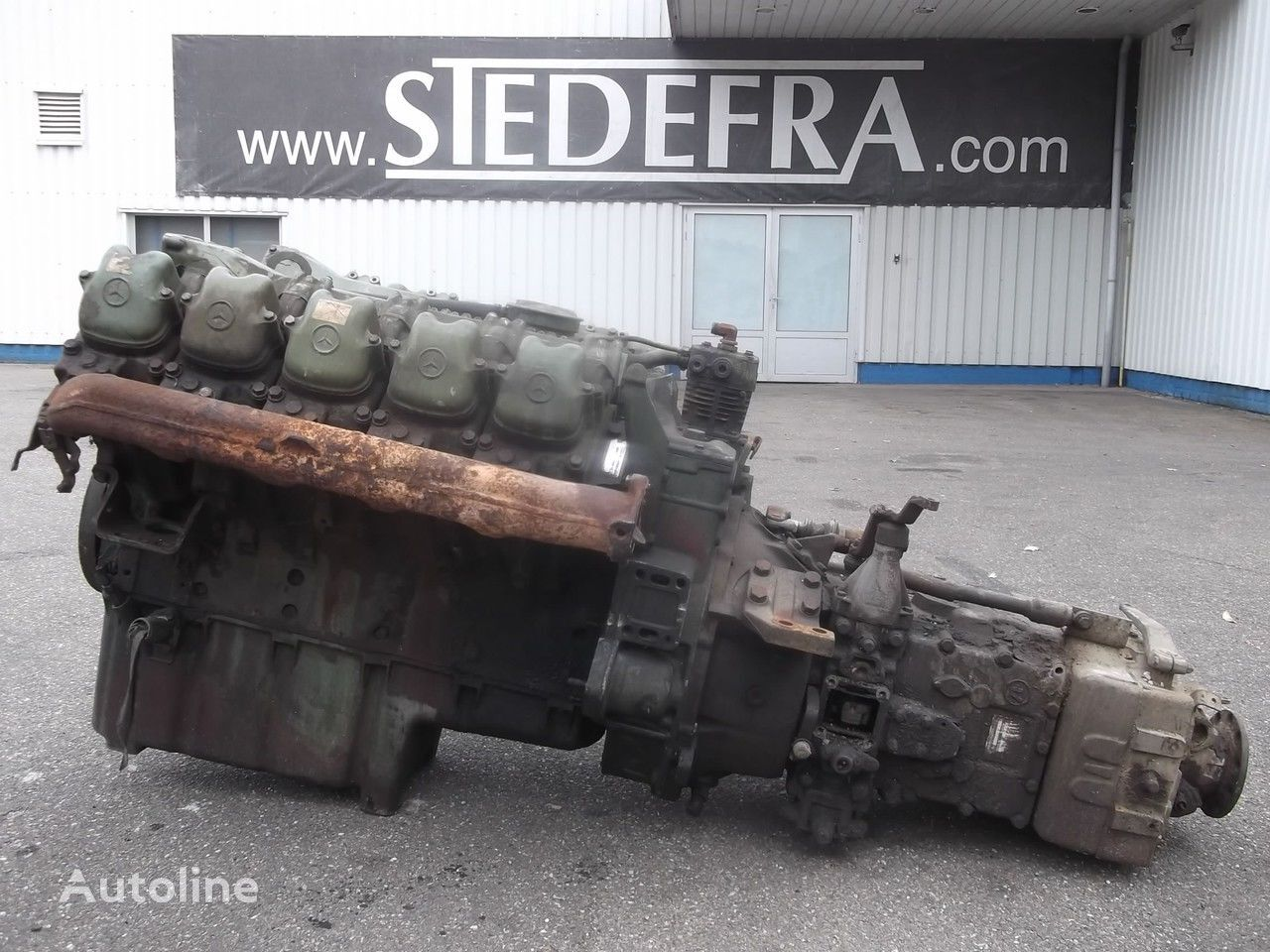 motor za kamiona MERCEDES-BENZ OM 403 Engine V10 + ZF Gearbox,10 pieces in stock