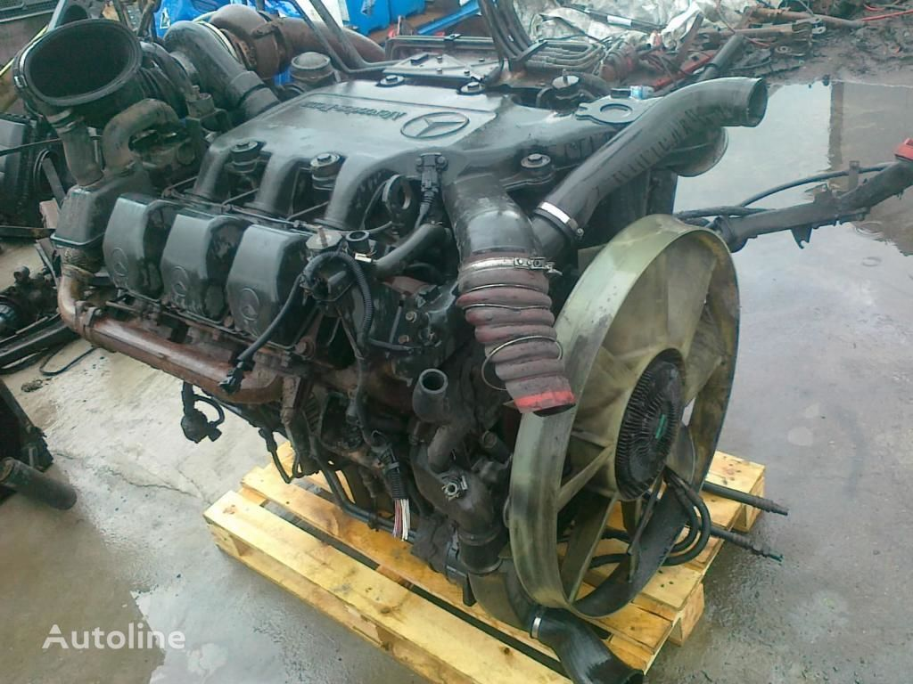 motor za kamiona MERCEDES-BENZ OM 501 LA V6 glowica blok pompa
