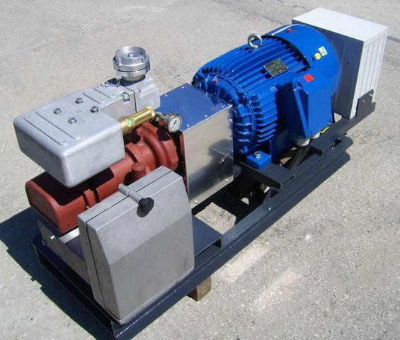 pneumatski kompresor za cisterne poluprikolice CG80 GHH RAND z silnikiem elektrycznym