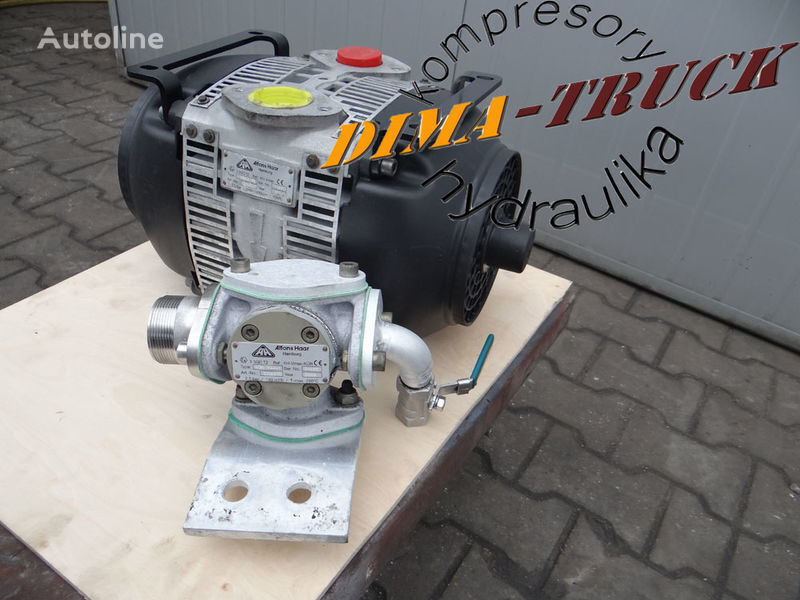 pneumatski kompresor  Haar vmax do wydmuchu płynów za kamiona