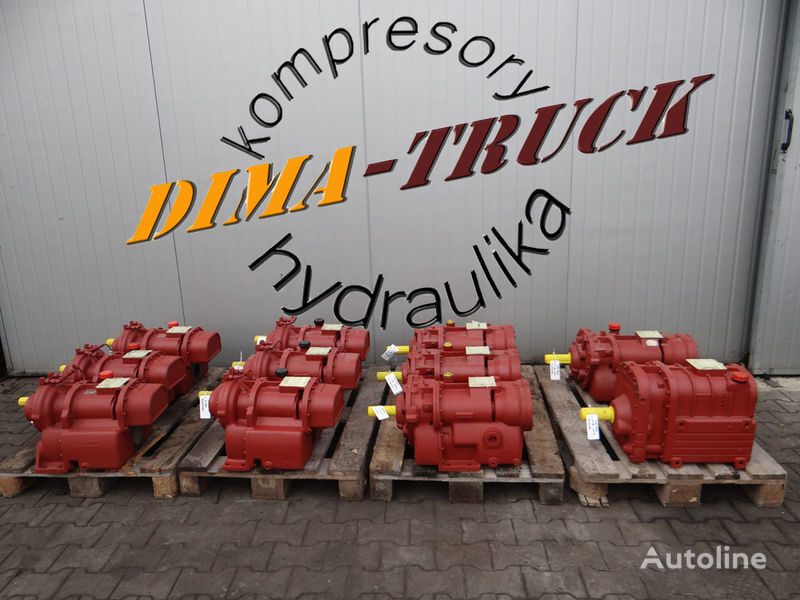pneumatski kompresor GHH RAND CG80 wydmuch kompresor za kamiona Silocompressor cement 560m