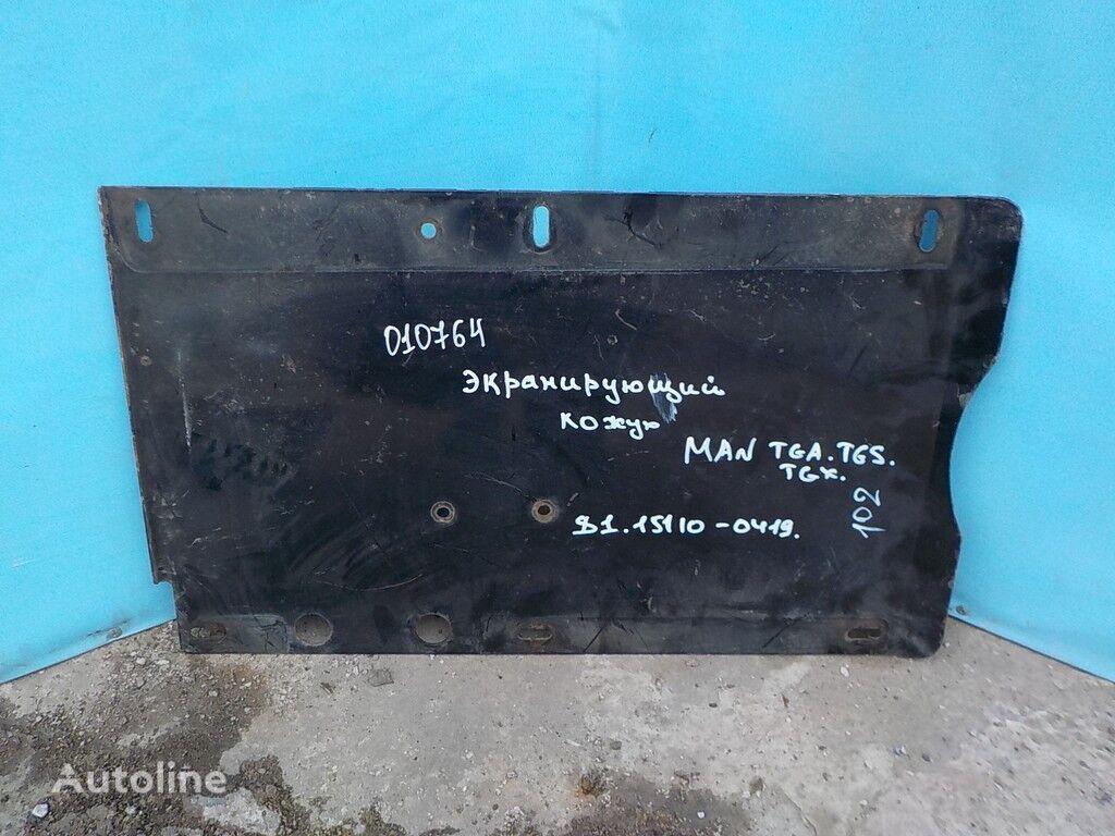 rezervni delovi  Ekraniruyushchiy kozhuh glushitelya za kamiona MAN