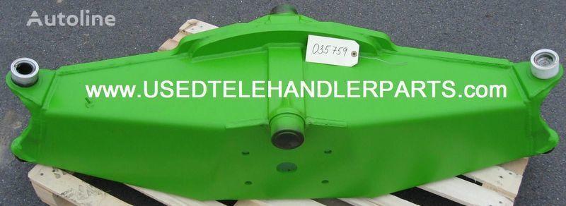 rezervni delovi  MERLO použité náhradní díly za utovarivača točkaša MERLO