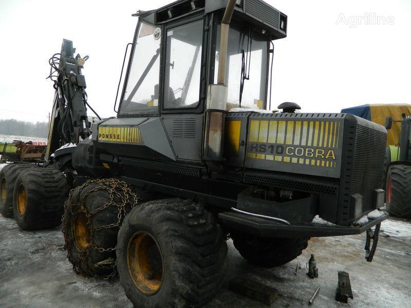 rezervni delovi  b/u zapchasti/ used spare parts za harvestera PONSSE COBRA HS10