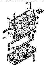 novi sklop cilindara  IVECO BLOQUE DAILY 8140,43 N za minibuseva IVECO 35S15