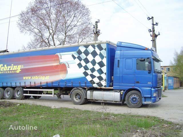 novi štitnik od sunca za kamiona DAF XF95