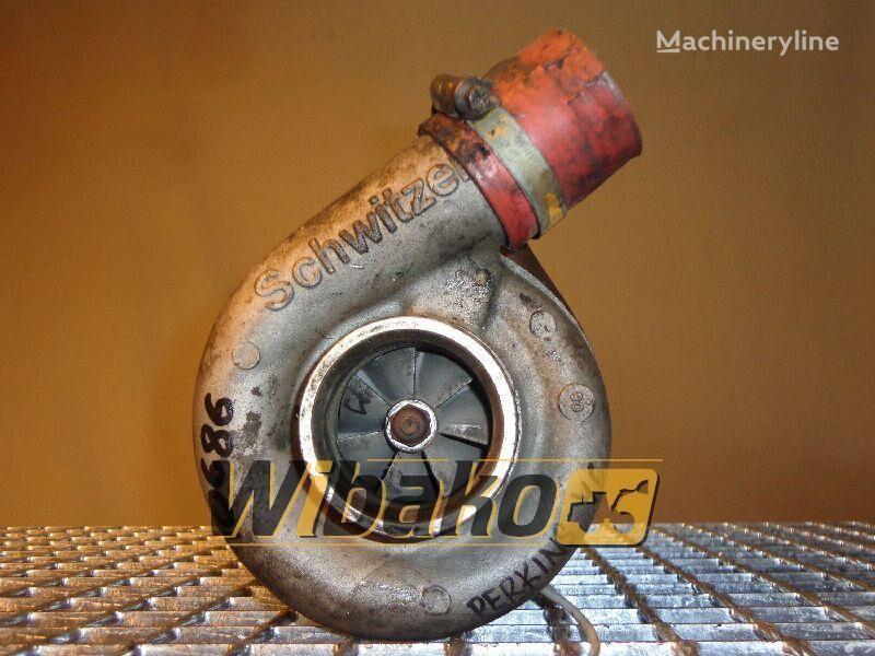 turbokompresor Turbocharger Schwitzer 2674A154 za druge građevinske opreme 2674A154 (20H90-00260)