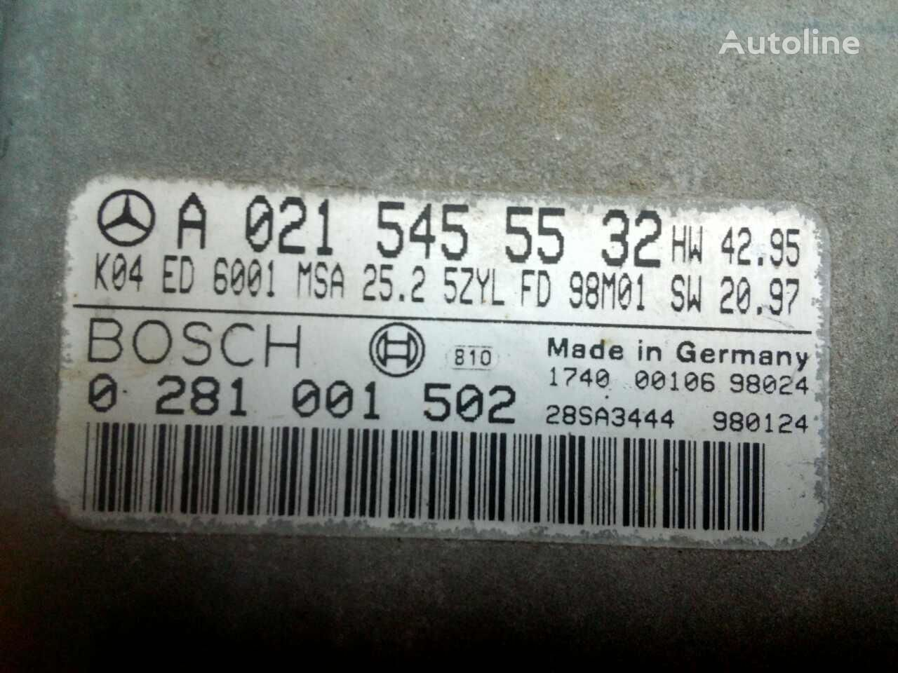 upravljačka jedinica BOSCH A0215455532 za kamiona MERCEDES-BENZ SPRINTER