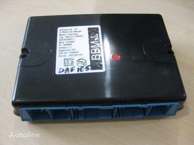 upravljačka jedinica DAF 1365.0111000001 za kamiona DAF
