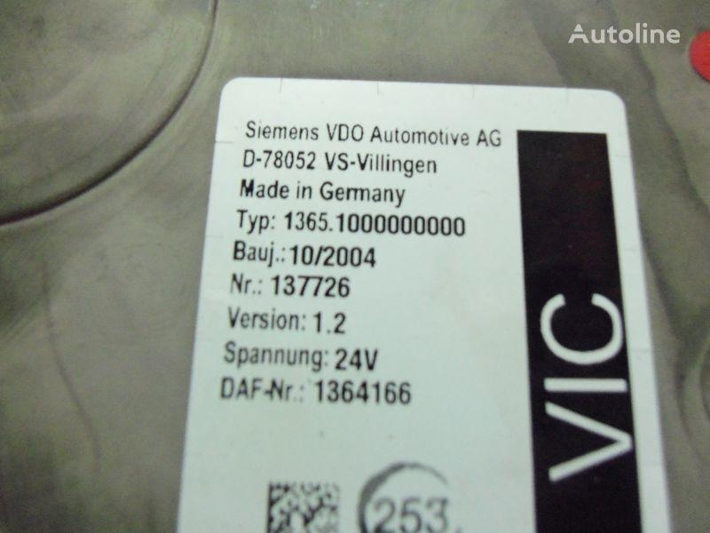 upravljačka jedinica DAF Euro3 electronic unit, VIC1, 1364166 za tegljača DAF 95XF