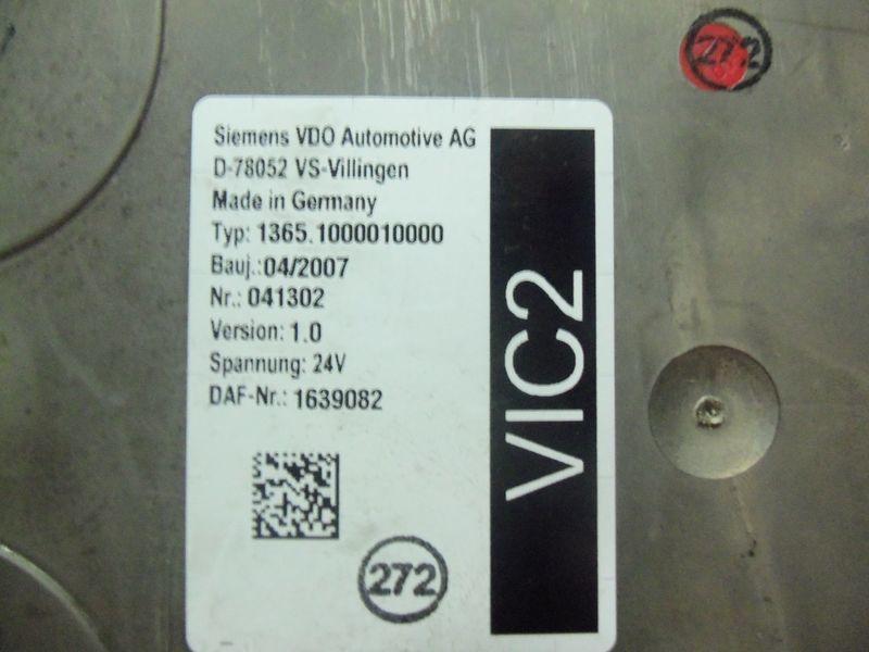 upravljačka jedinica DAF VIC2 electronic control unit 1639082 za tegljača DAF 105XF