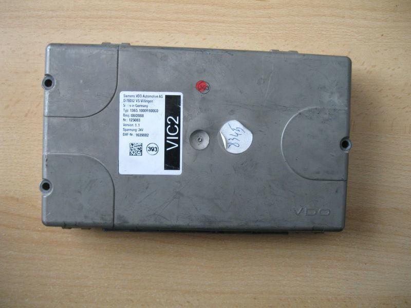 upravljačka jedinica  STEROWNIK VIC 2 za tegljača DAF XF 105 / CF 85