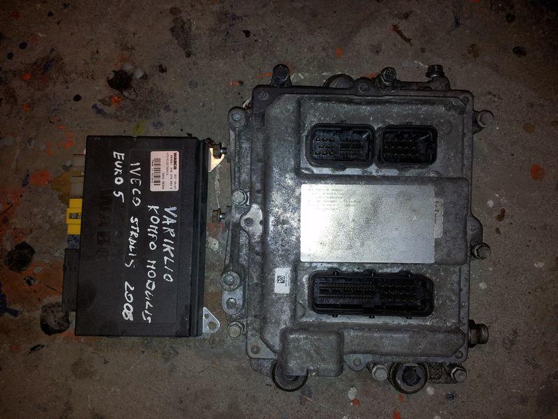 upravljačka jedinica  IVECO EURO5 450PS ECU 0281020048 engine computer EDC set (EDC, VCM - ELECTRONIC, chip), ignition set, 4462700020, 504122542 za tegljača IVECO STRALIS