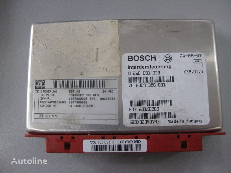 upravljačka jedinica  Bosch BOSCH za kamiona MAN