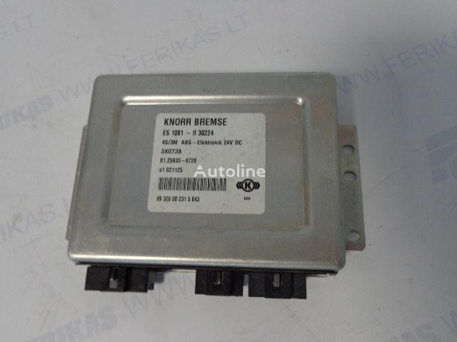 upravljačka jedinica  KNORR BREMSE 4S/3M ABS-Elektronik za tegljača MAN