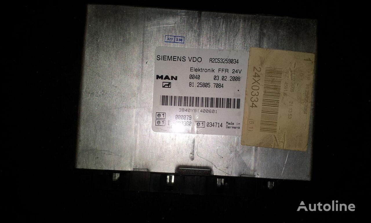 upravljačka jedinica  MAN FFR control unit, ECU, 81258057084, Siemens VDO, 81258057084, 81258057088, 81258057081, 81258057082, 81258057083, 81258057084, 81258057087, 81258057089, 81258057088 za tegljača MAN TGX