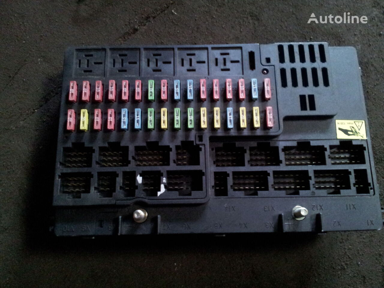 upravljačka jedinica MERCEDES-BENZ Grundmodul za tegljača MERCEDES-BENZ Actros MP2, MP3