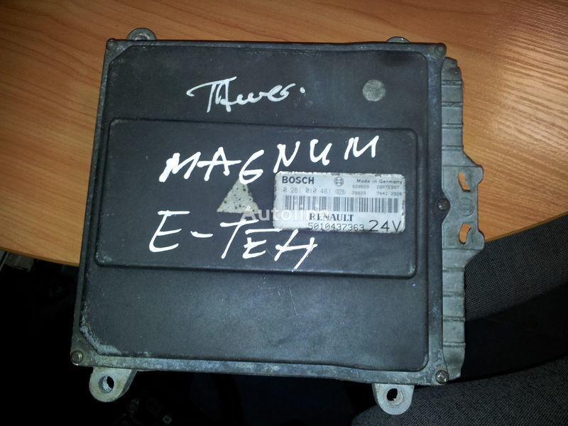 upravljačka jedinica  RENAULT engine computer EDC, ECU, 5010437363, BOSCH 0281010481 za tegljača RENAULT Magnum E-TECH