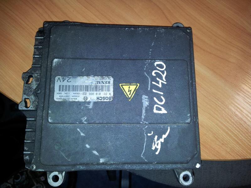 upravljačka jedinica  Renault Premium DCI engine control unit, ECU, EDC, 5010550351, BOSCH 0281010966 za tegljača RENAULT Premium DCI 420PS