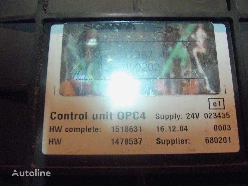 upravljačka jedinica  Scania R series OPC4 Control unit 1731140, 1750167, 17514664, 1754669, 1754674, 1754679, 1754684, 1754689, 1754694, 1754699, 1754704, 1754709, 1754714, 1754719, 1754728, 1754733, 1754738, 1918182, 1928717, 1933486, 1933264, 1936924, 2095496, 2149043 za tegljača SCANIA R series