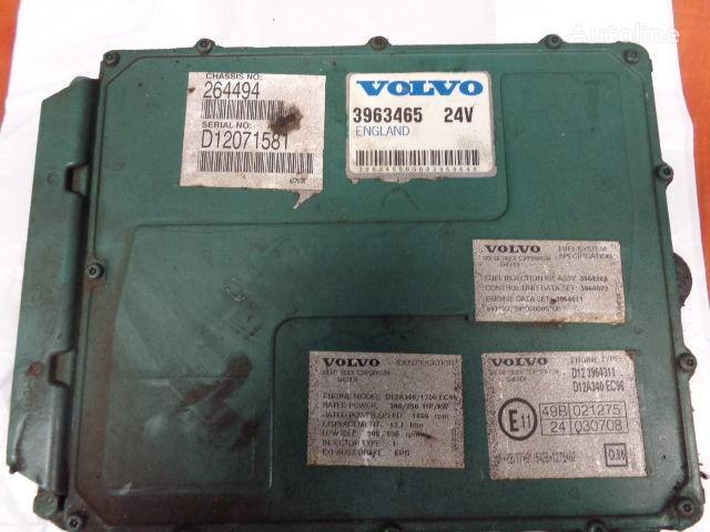upravljačka jedinica  VOLVO FH12 engine control unit ECU, EDC, D12A340, 250KW, 340PS, 3963465 za tegljača VOLVO FH12
