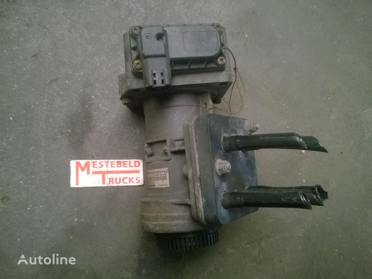 ventil za tegljača SCANIA Voetremventiel 4-serie