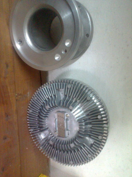 novi ventilator hladnjaka MERCEDES-BENZ MUFTA -perehodnik 4.63303 5410350214 Diesel Technik za kamiona MERCEDES-BENZ actros