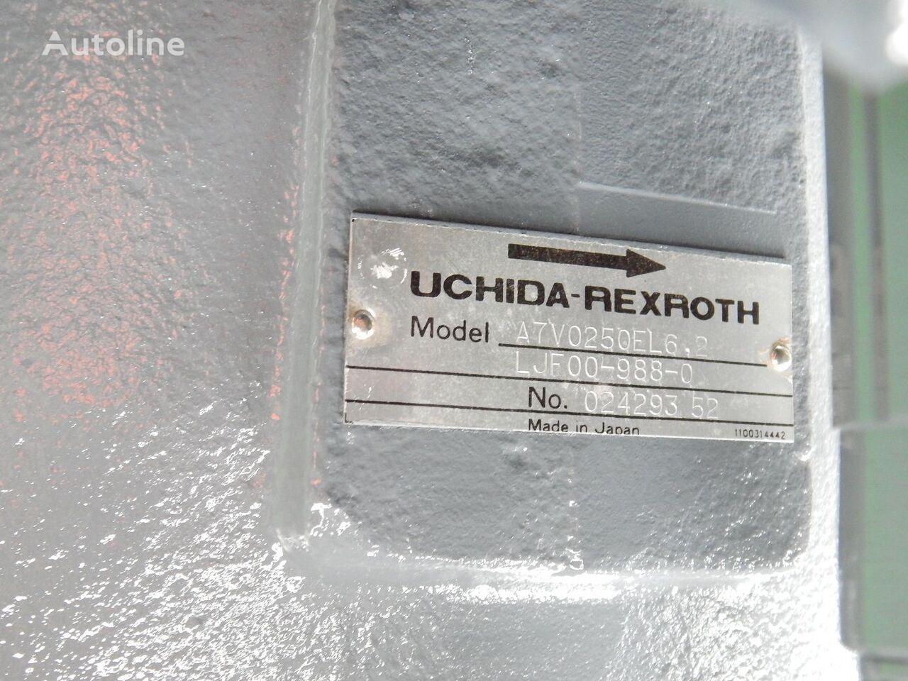 FIAT-HITACHI UCHIDA REXROTH A7V0250EL6. 2 UCHIDA REXROTH hidraulična pumpa za FIAT-HITACHI EX455 bagera