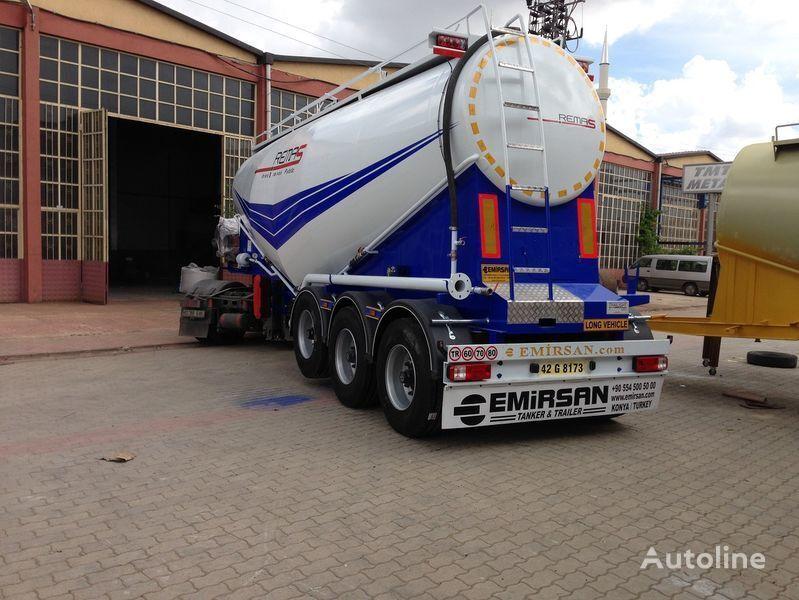 šleper za prevoz cementa EMIRSAN Manufacturer of all kinds of cement tanker at requested specs