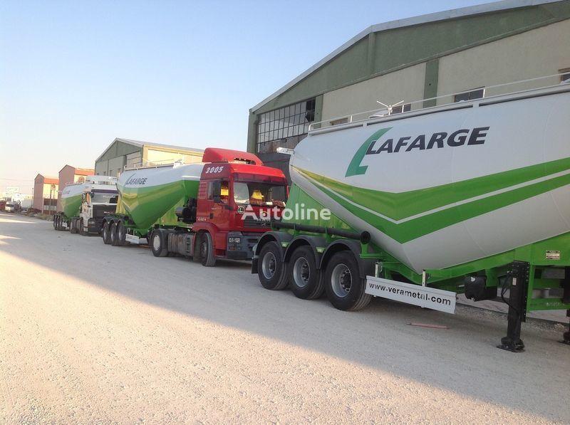 novi šleper za prevoz cementa LIDER NEW 2017 YEAR LIDER TRAILER
