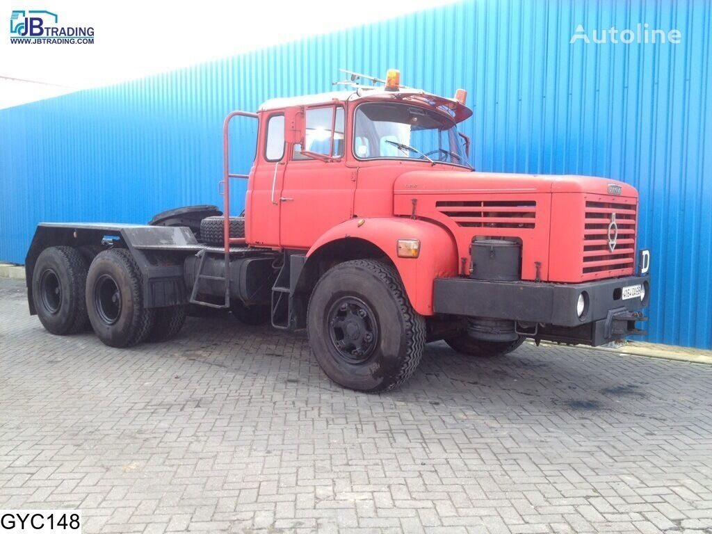 tegljač BERLIET TBO , Manual, Steel suspension, Naafreductie