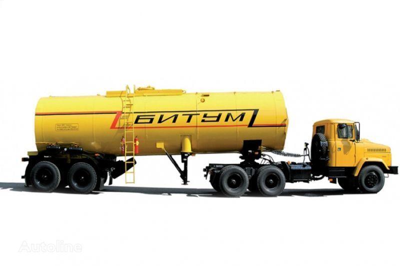 tegljač KRAZ Avtobitumovozy 63431 AB-22 i 6443 AB-30,5 + cisterna