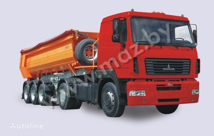 novi tegljač MAZ 5440 A5
